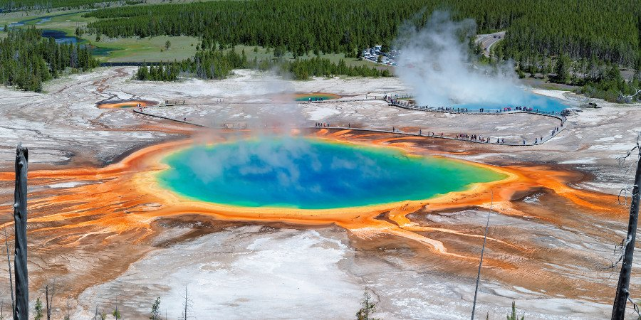 Grand Prismatic, Yellowstone National Park/Wyoming